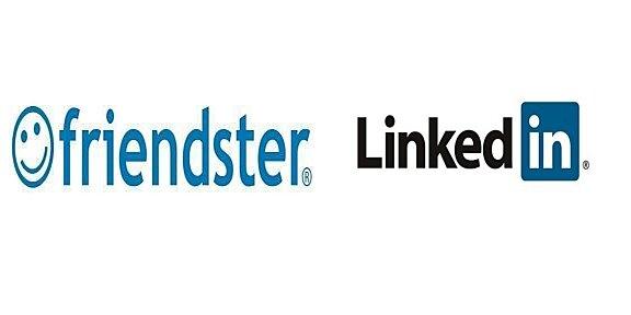 Creación de Friendster y Linkedin