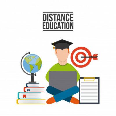 EDUCACIÓN A DISTANCIA. timeline