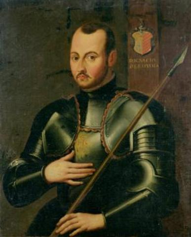 Saint Ignatius becomes a soldier