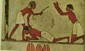 Beginning of Egyptian Slavery