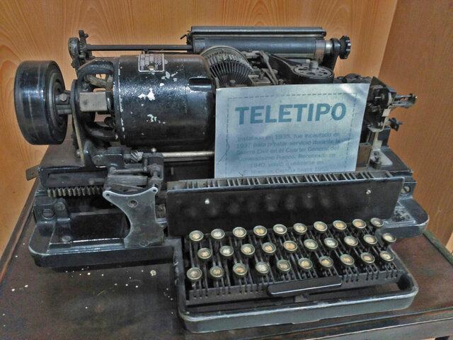Teletipo.