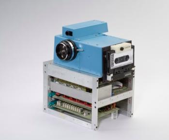 Primera cámara digital a blanco y negro.