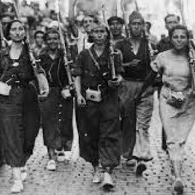 Guerra Civil Española timeline