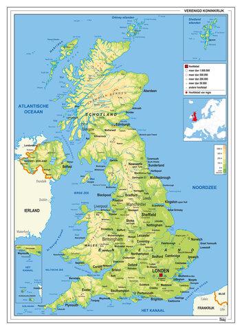 Engeland en Schotland vormen Groot-Brittannië