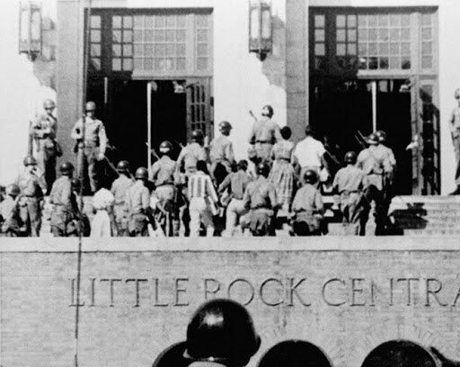 Document 9 : Les neufs de Little Rock Central High School