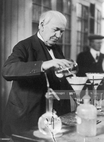 Edison fallece.