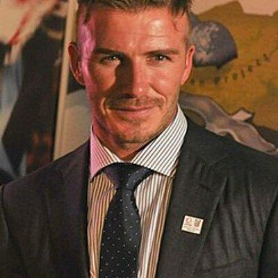 David Beckham timeline