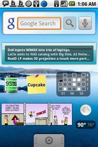 Android 1.5 Cupcake – La aparición del teclado virtual
