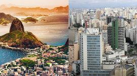 LINHA DO TEMPO SÃO PAULO E RIO DE JANEIRO timeline