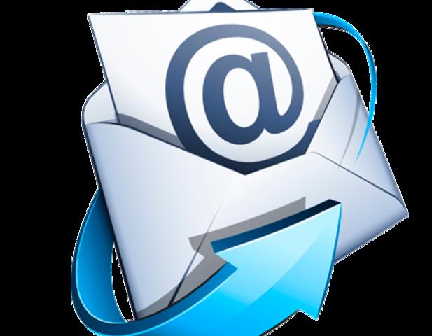 Inicio del e- mail