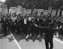 la ségrégation continue dans les lieux publiques (document 3)