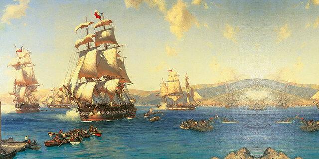 San Martín organiza la Escuadra Libertadora