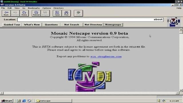 Creación Mosaic y Netscape
