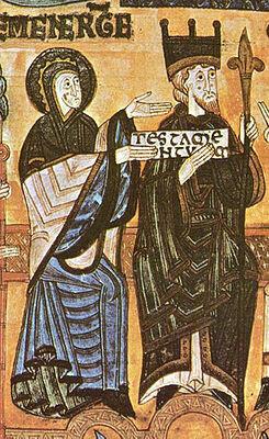 """Alfonso III de Asturias es llamado """"totius Hispaniae imperator"""""""