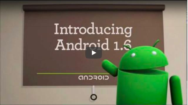 Android 1.6 Donut – Llega el soporte para nuevos tamaños de pantalla