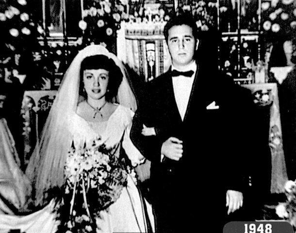 Fidel & Mirta Diaz-Balart Marry