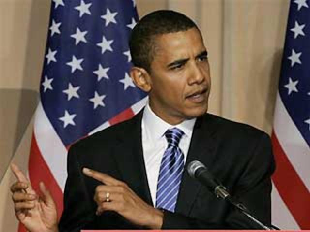 Primer Presidente de color que llega a La Casa Blanca