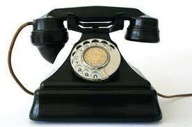 Primer telefono de Baquelita