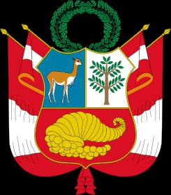 6) Establecimiento de la primera bandera y escudo del Perú