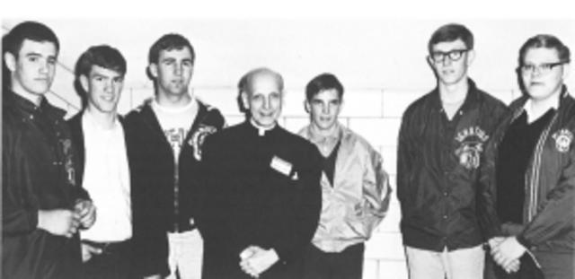 A Visit from Fr. Arrupe