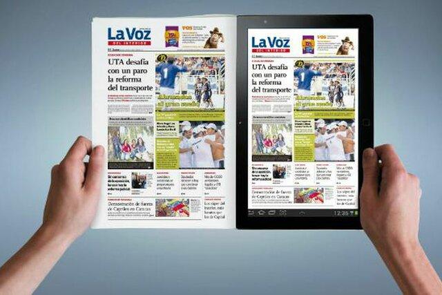 Diarios con presencia en internet.