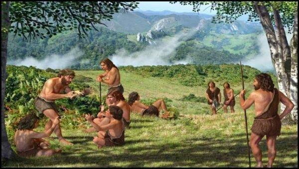 Los pueblos cazadores-recolectores