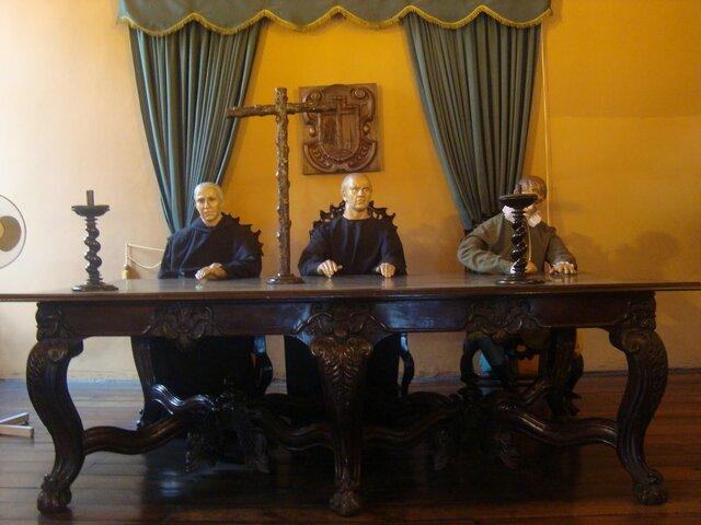 El tribunal de la Santa Inquisición