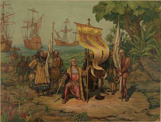 Caida del Imperio Romano de Occidente/ Primer Llegada de Colon a America