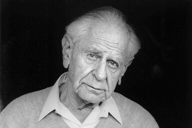 Death of Karl Popper