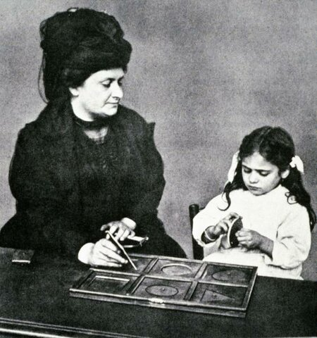 Maria Montessori Gives Up her Private Medical Practice in Order To Concentrate on Education