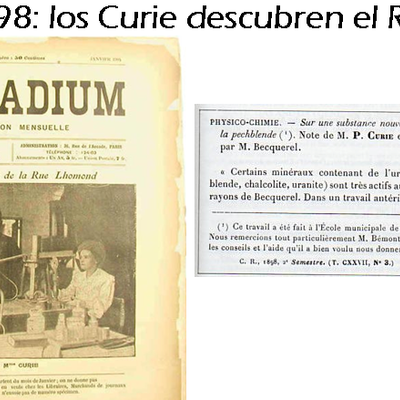 HISTORIA DE LA BRAQUITERAPIA.  timeline