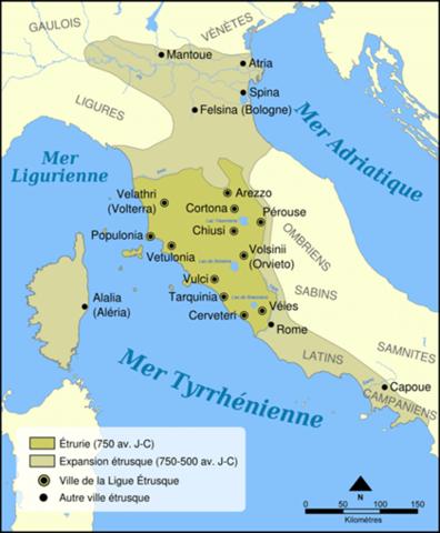FIn de la République romaine avec Tarquin le Superbe début de l'empire Romain