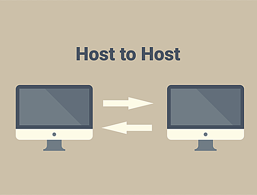 Host-to-host