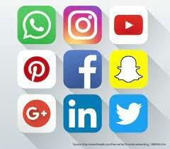 Redes sociales superan la mitad de la poblacion