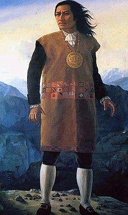 Rebelión de Túpac Amaru  II .