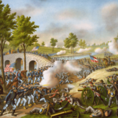 Battle of Antietam timeline