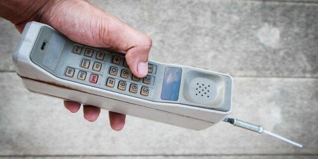 Primera generación de celulares.