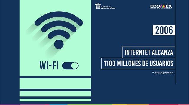 1.100 Millones de usuarios en Internet