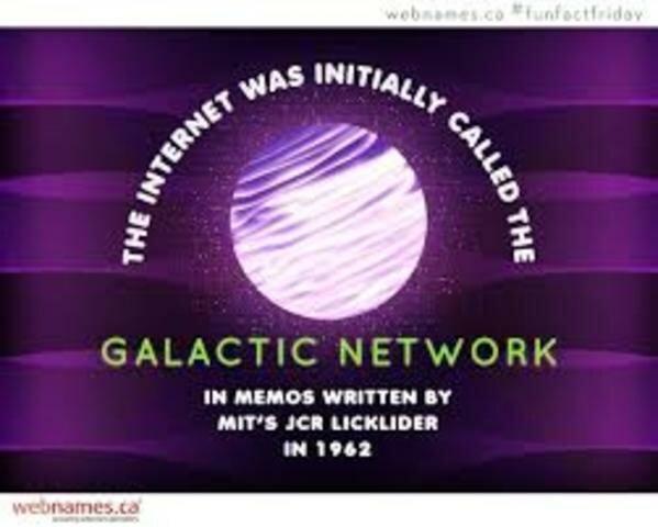 """Licklider y la """"Red Galáctica"""""""