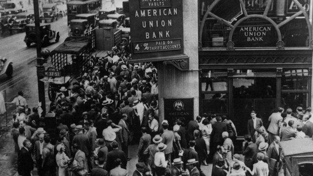 El gran crack (Crisis económica y financiera en la bolsa de Nueva York)