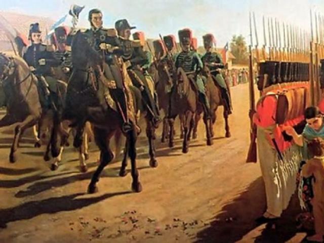 La formación del Ejército Libertador de San Martín