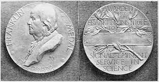 Recibimiento medalla Franklin