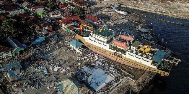 Terremoto y tsunami en Sumatra Indonesia