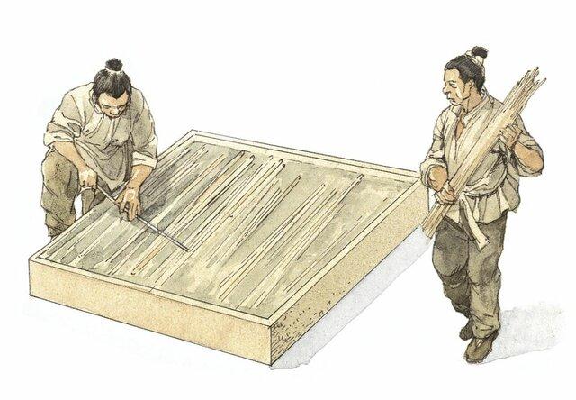 Fabricación del Papel en China