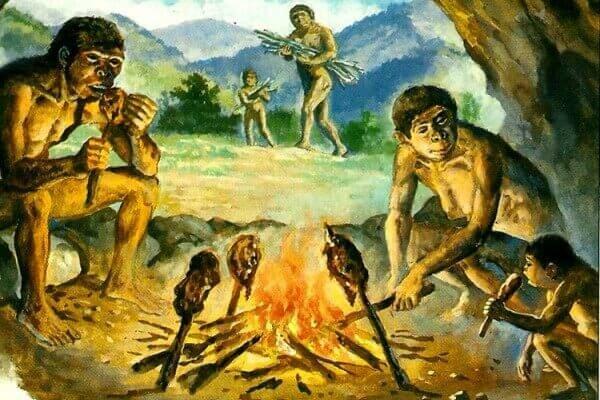 """""""El Descubrimiento del fuego"""" (800,000 a.c)"""
