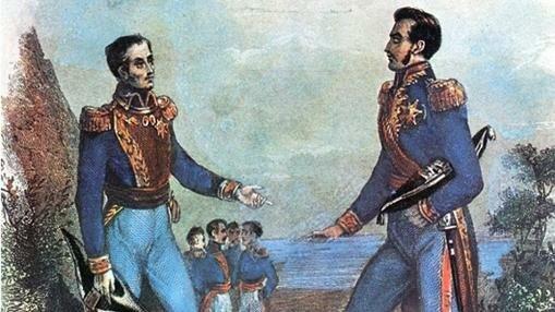 San Martin renuncia al ejercito español y viaja a Inglaterra