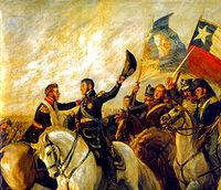 Se da la Batalla de Maipú, que consolida la independencia de Chile.