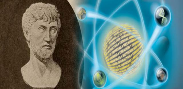 """""""La Primera Teoría Atómica """" (450 a.c)"""