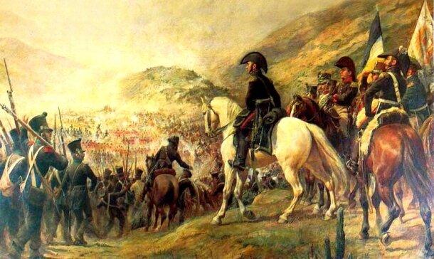 San Martin Ingresa a Lima.