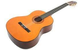 Siglo XIV . guitarra actual